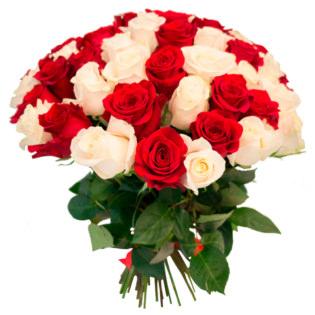 Розы Эквадор микс
